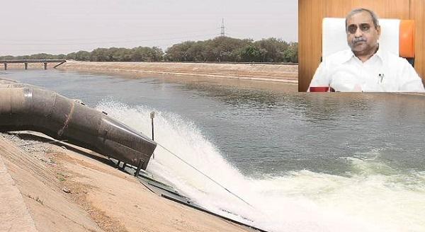 narmada canal water