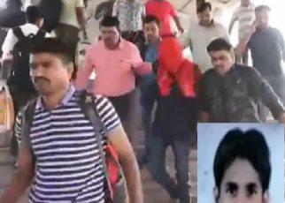 rape case yadav brought to surat court