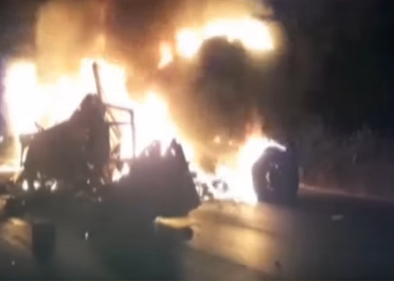3 killed in triple accident in banaskantha
