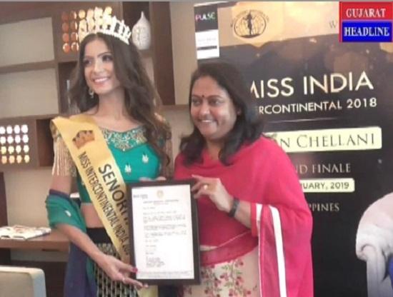 Suman chellani Miss India