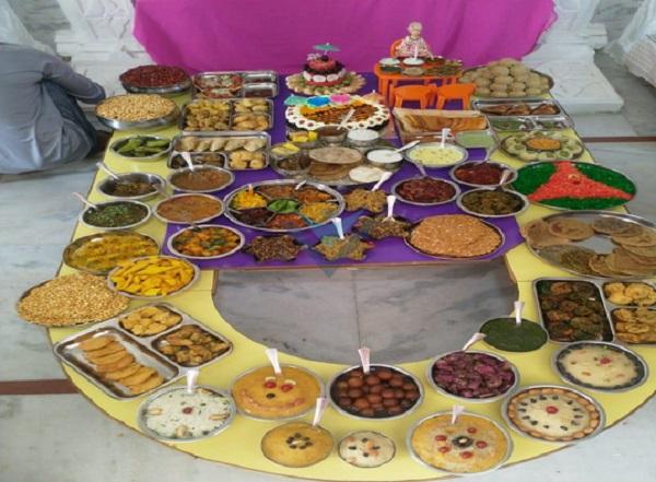 annakut prasad at swaminarayan vadodara