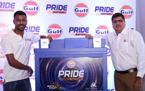 hardik pandya launch pride battery