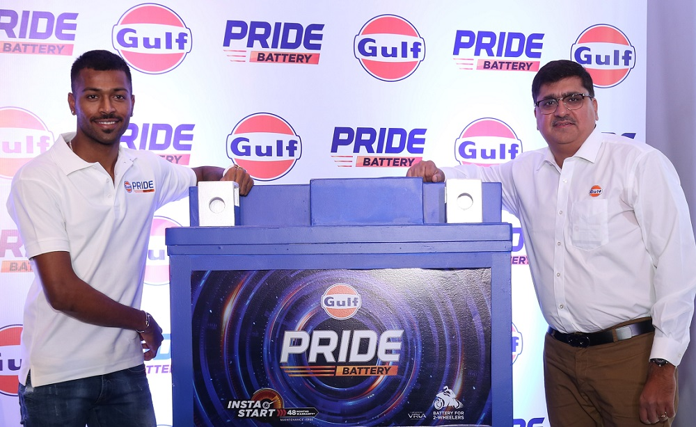 hardik pandya launch pride battery
