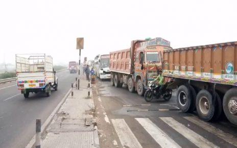 jetpur rajkot highway traffic jam