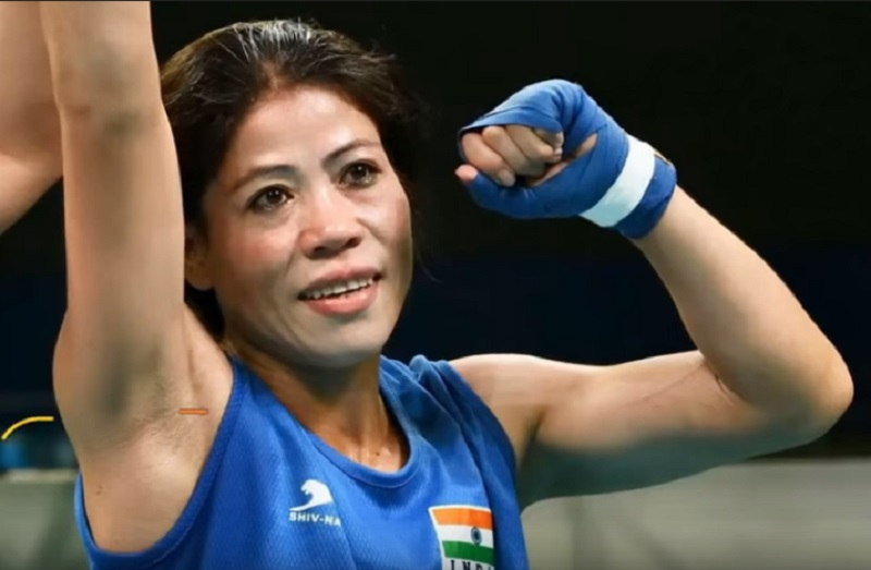 mary kom wins 6th gold medal