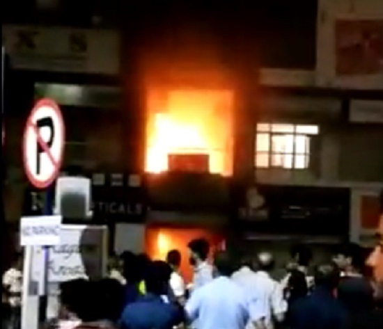 surat fire aagam arcade