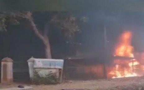 VADODARA FIRE IN THERMOCOL COMPANY