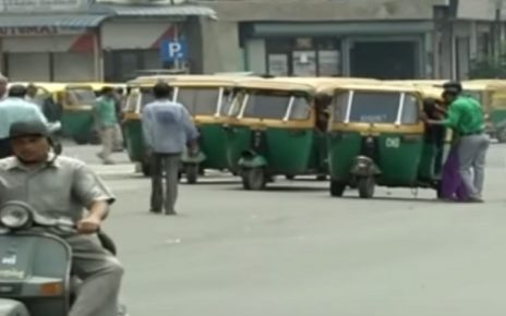 auto strike partial in ahmedabad