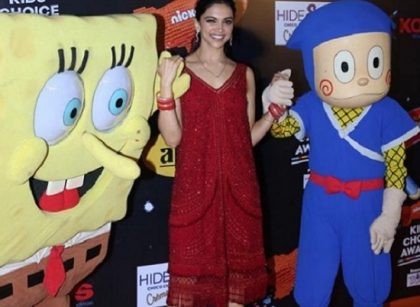 deepika at kids choice award