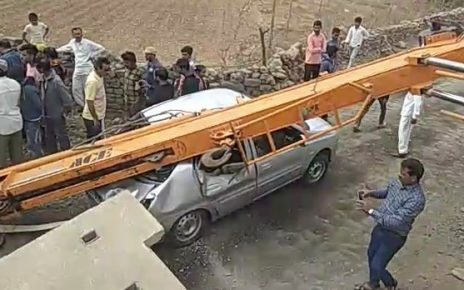 driver unhurt in accident