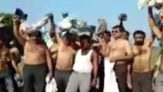 junagadh farmers protest