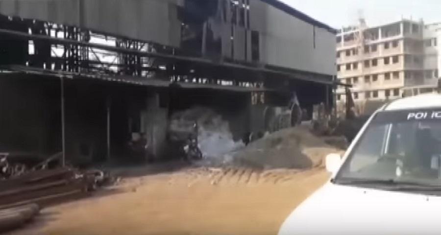 valsad steel company blast