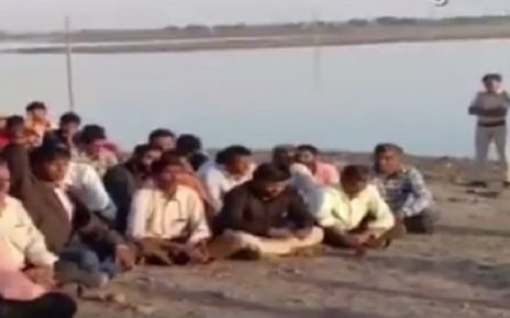 jamnagar farmers protest for irrigation water