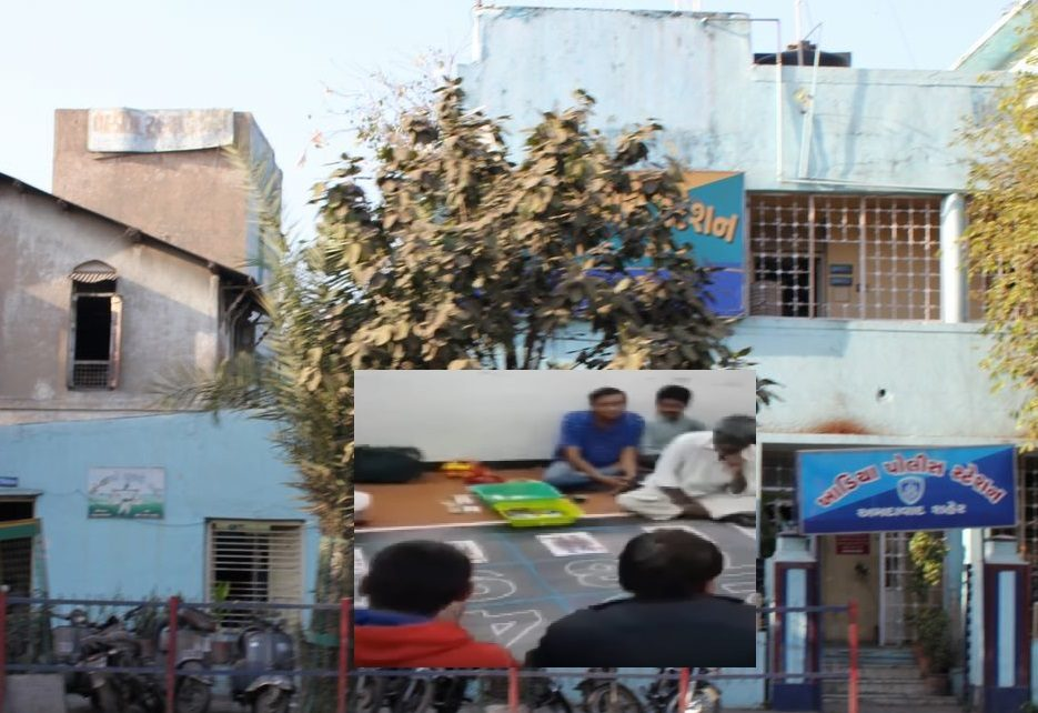 khadia police station raid on gambling club