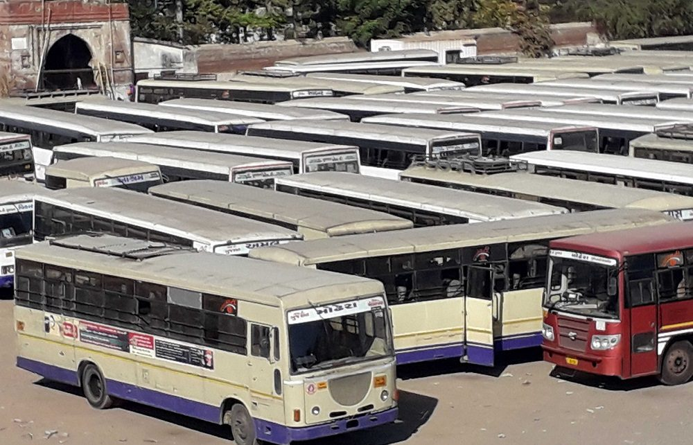 GSRTC STAFF STRIKE