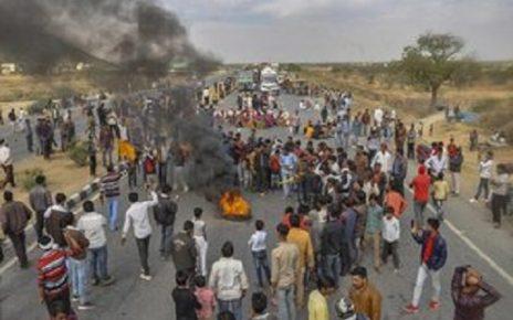 gujjar agitation