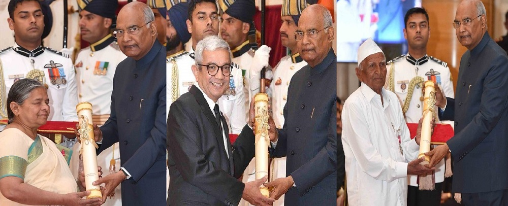 3 gujarati president padma awards