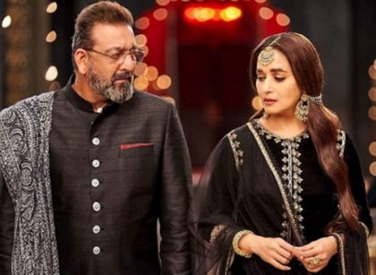 sanjay dutt and madhuri together after years
