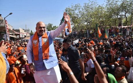 amit shah campaigns in ahmedabad