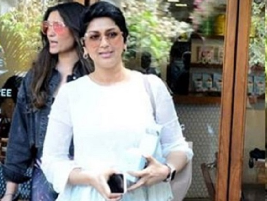 Sonali Bendre snapped post lunch in Bandra