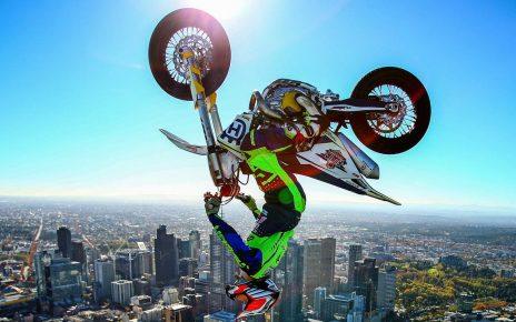 australia bike stunt