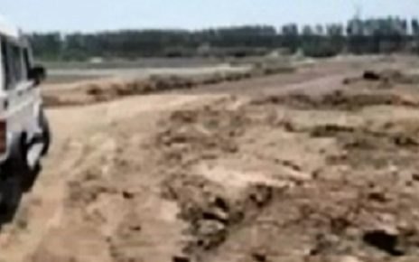 narmada river bed as a personal property