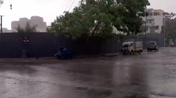 ahmedabad rain post cyclone vayu