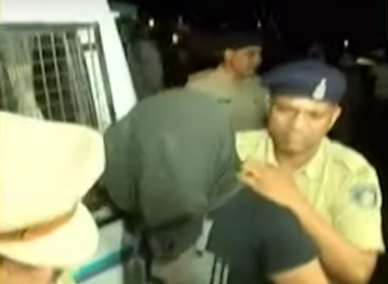 delivery boy arrested