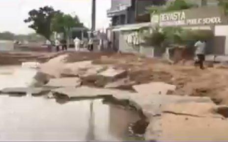 digging outside school in ahmedabad