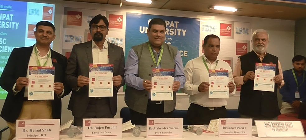 ganpat university launch course
