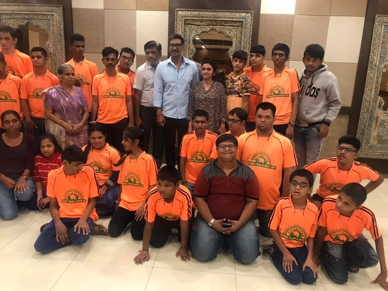 ajay devgn differently abled children