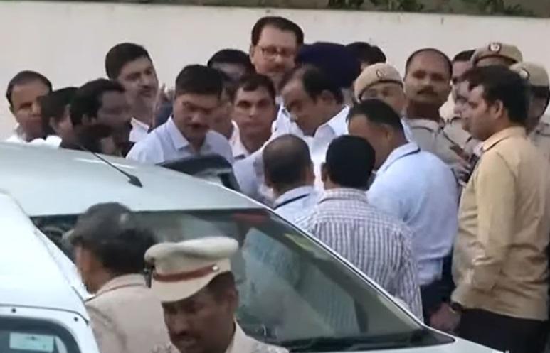 chidambaram in cbi custody
