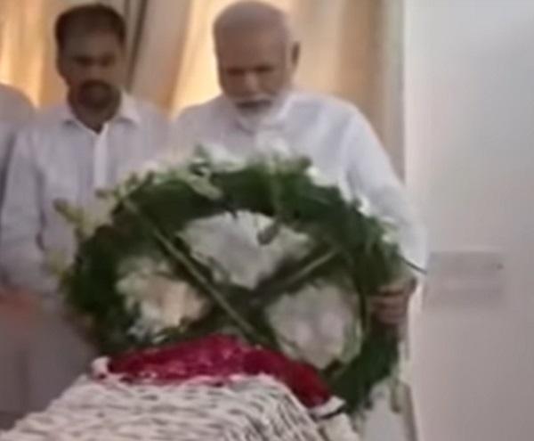narendra modi tribute to sushma swaraj