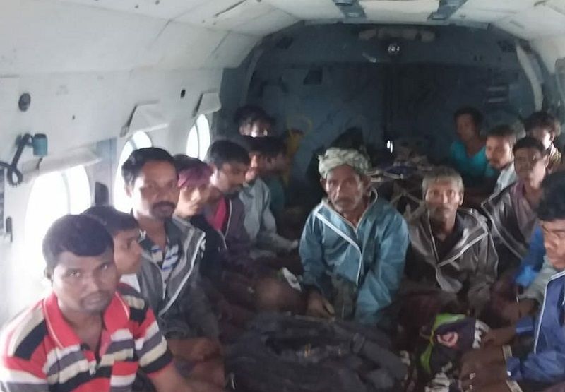 navsari iaf rescue operation