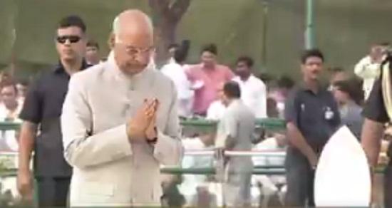 president tribute to vajpayee