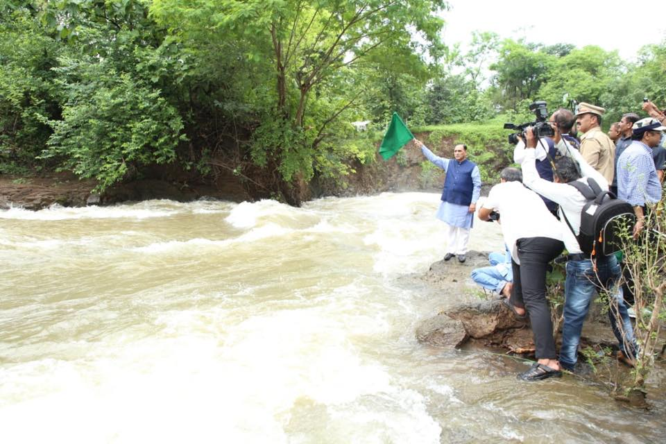 rupani flag off river rafting