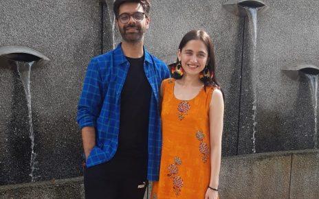 Sanjida sheikh and jigar sariya in Ahmedabad