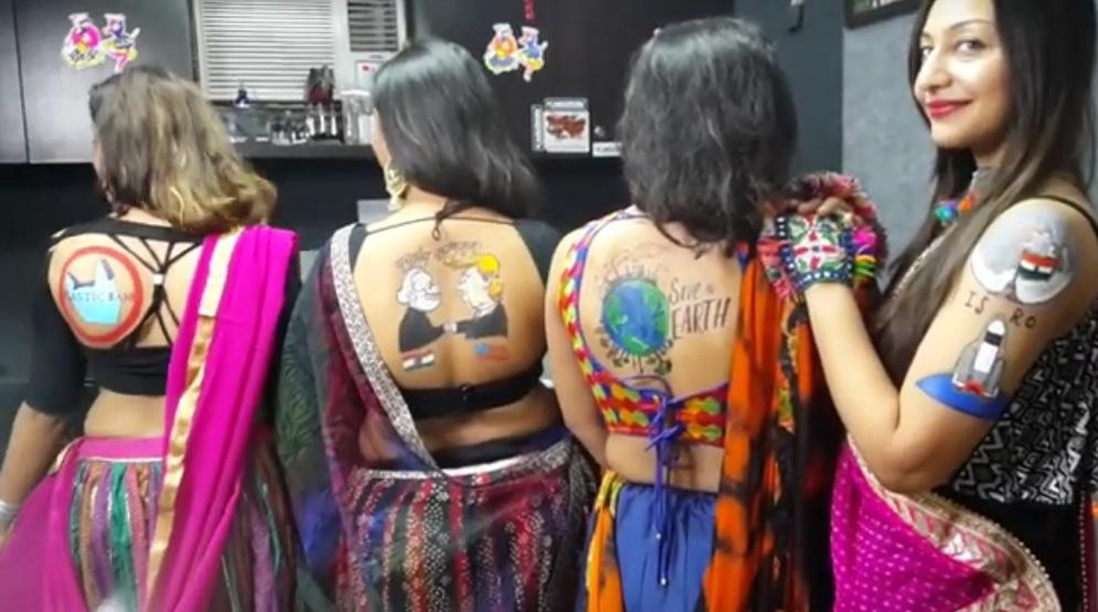 girls with tattoo