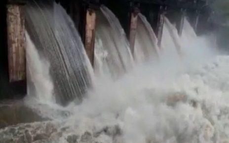 girsomnath dam overflow