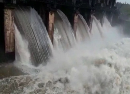 girsomnath dam overflow