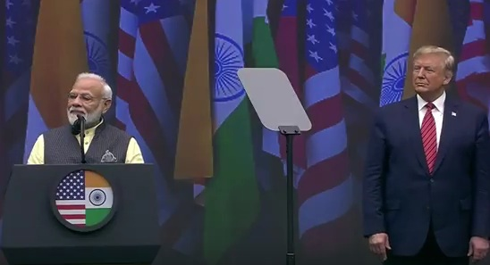 modi trump in houston