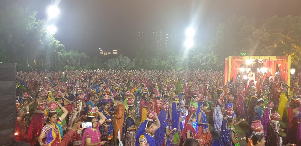 satvik garba by 1001 women