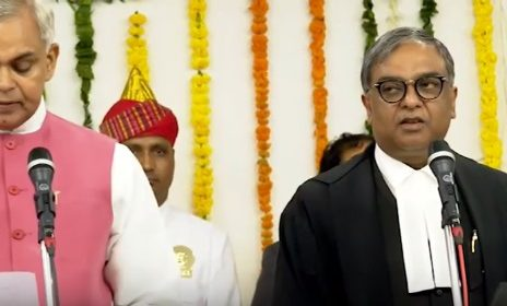 vikram nath takes oath as chief justice of gujarat high court