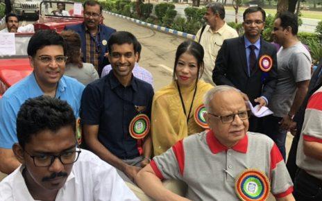 vishwanathan anand and mary com in ahmedabad