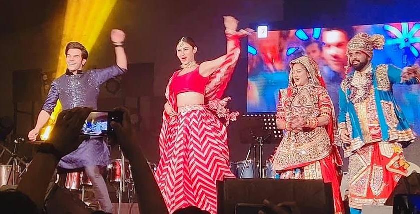 Mouni roy in ahmedabad