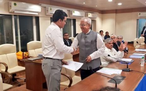 Ganguly as BCCI president