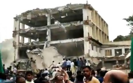 building collapse in vadodara