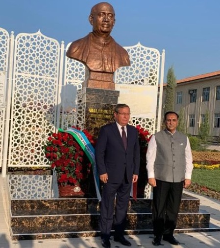 rupani unveil statue of sardar patel