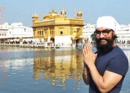 aamir khan visit golden temple