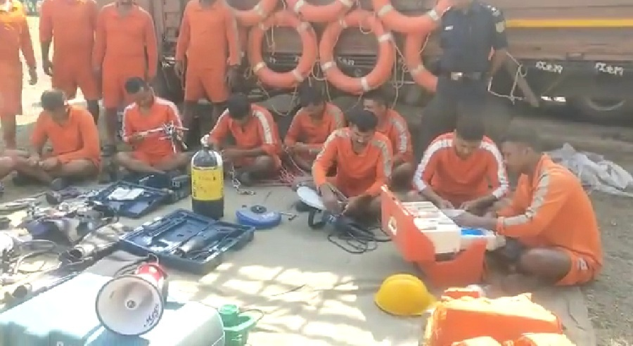 ndrf team in botad